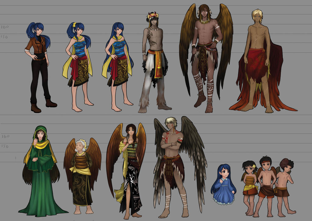 Character LineUp by SweetChiel