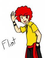 Flint says HAY GAIZ by Amane-san