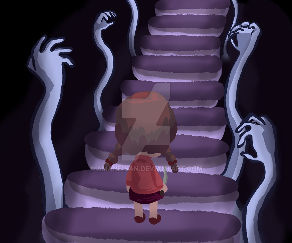 Staircase of Hands by Amane-san