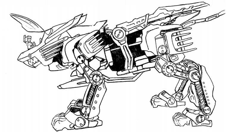 Blade Liger by Greenneko375