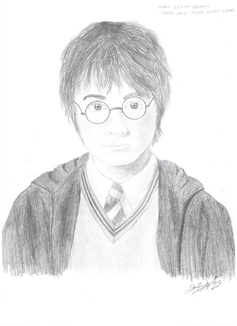 Harry Potter Portrait by Bayesian-Conspirator