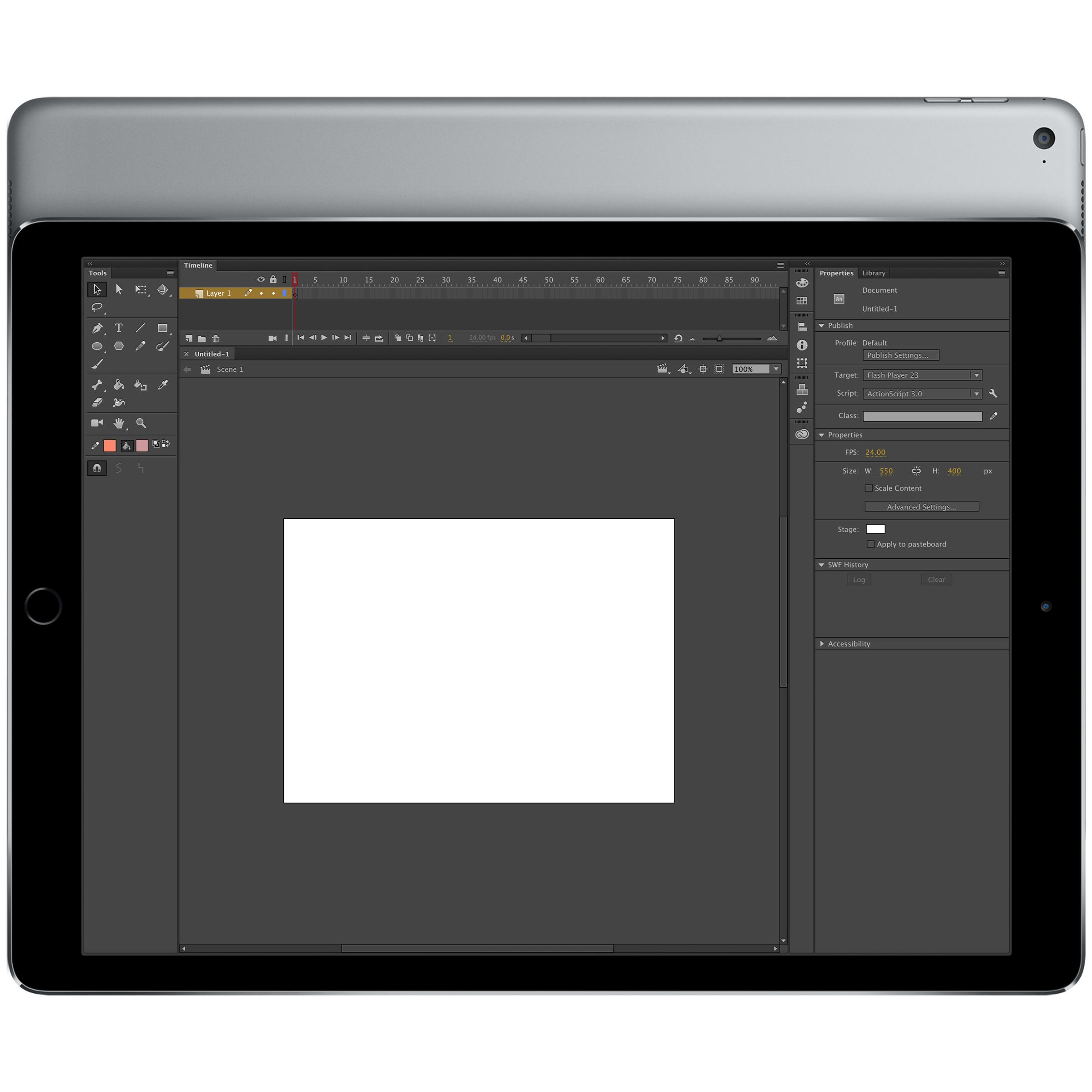 adobe animate for the ipad pro ipad