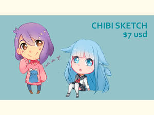 Commission Prices (Chibi sketch)