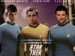 Star Trek XI Cast Wallpaper