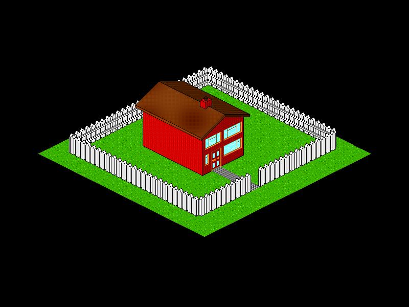 Pixel Art House 1