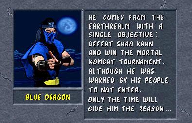 Blue Dragon's Bio 2