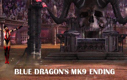 Blue Dragon's MK9 Ending by BlueMK
