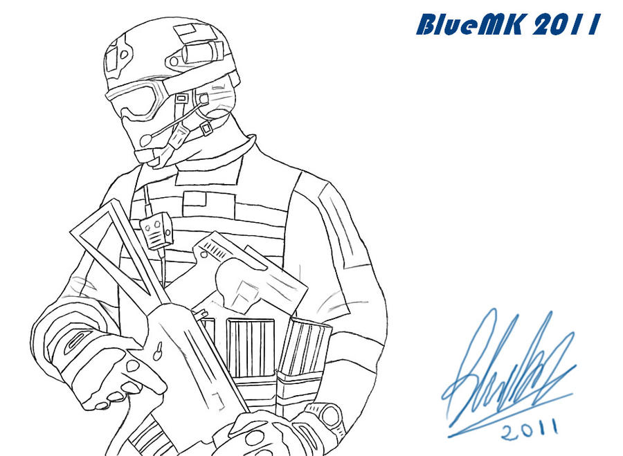 Call Of Duty Advanced Warfare Coloring Pages Sketch Coloring Page