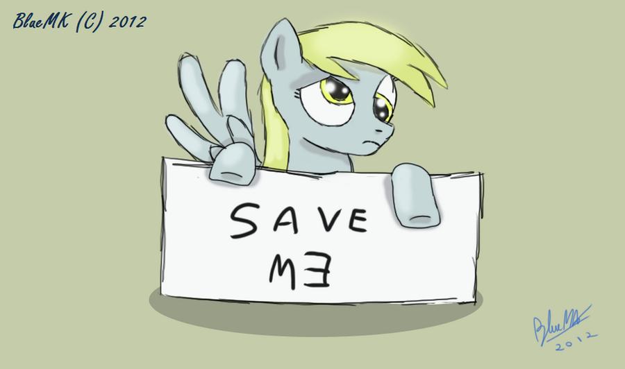 Save Derpy by BlueMK