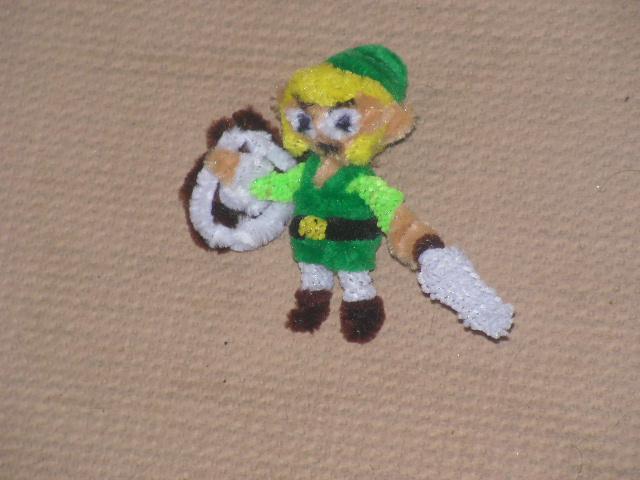 Toon Link by fuzzyfigureguy