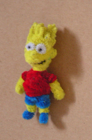 Bart Simpson by fuzzyfigureguy