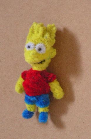 Bart Simpson by fuzzyfigureguy