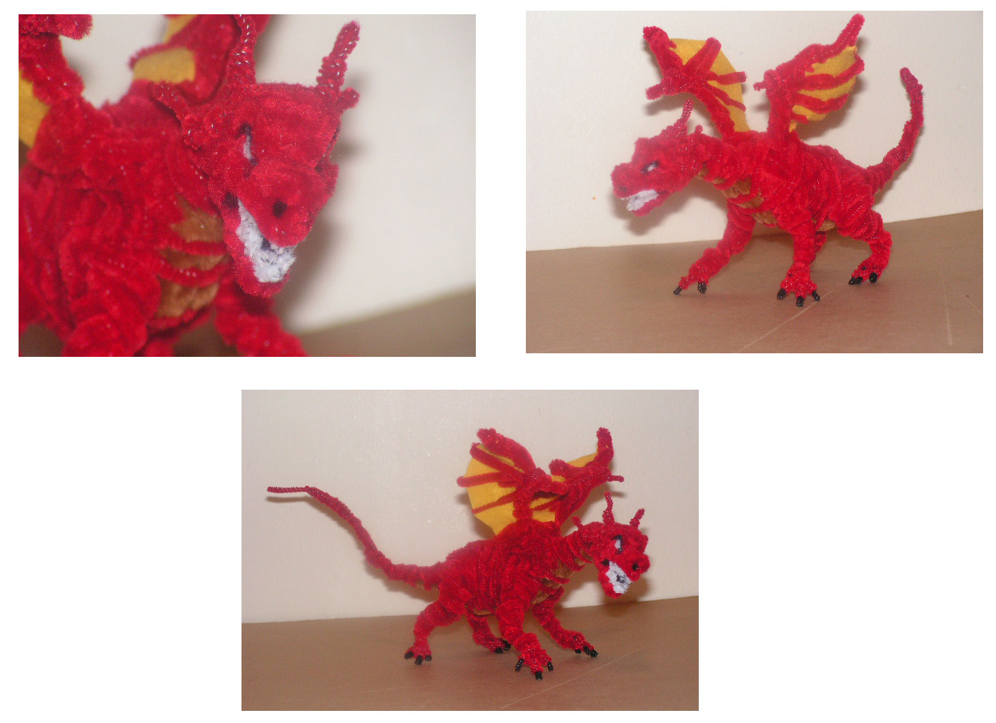 Smaug by fuzzyfigureguy