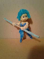 a Blue Jedi