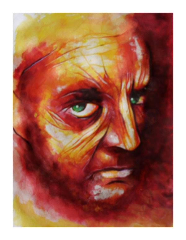 Self portrait by arnoldcsisztai