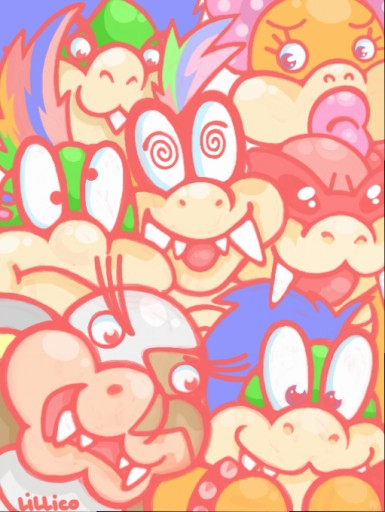 koopa kids by Child-Of-Neglect