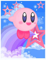 Kirby's air ride by Child-Of-Neglect