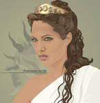 Angelina Jolie - Olympias