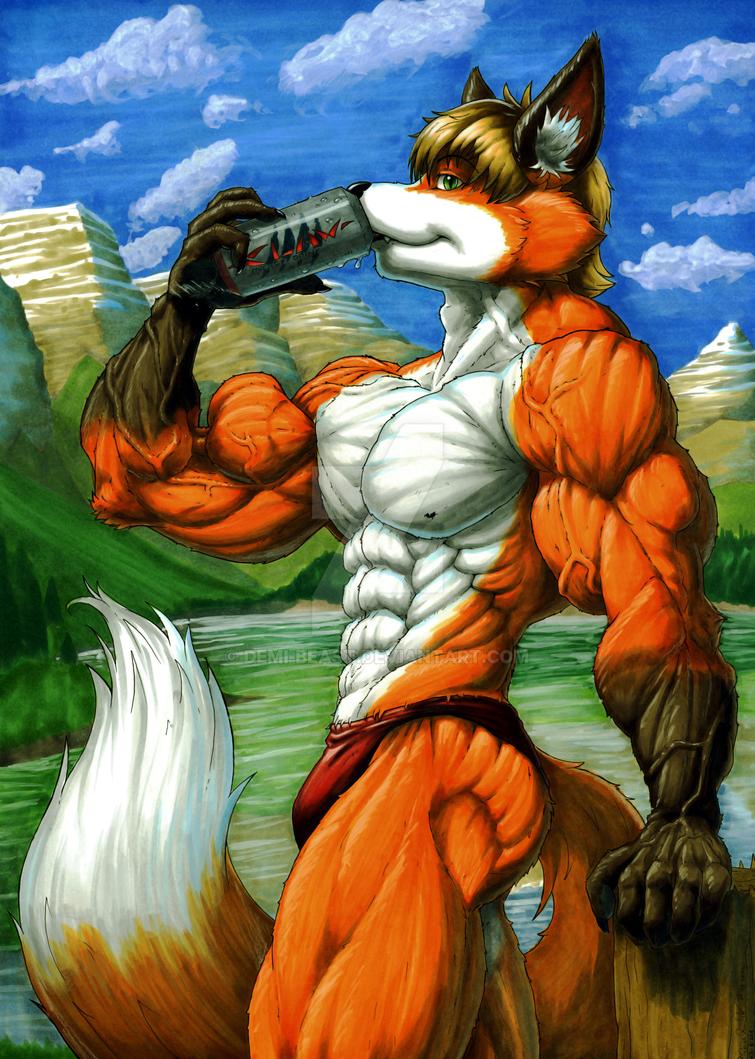 Mountain-Fox by Demi-Beast