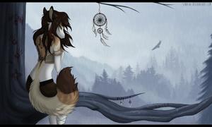 Bird of prey by Sinasni
