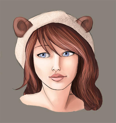 Shy girl by Feartakyuubi