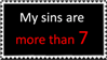 My Sins are More than 7 by Adeldee