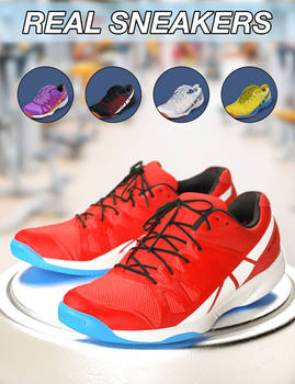 Slide3D Real Sneakers for G3F and Texture Addon