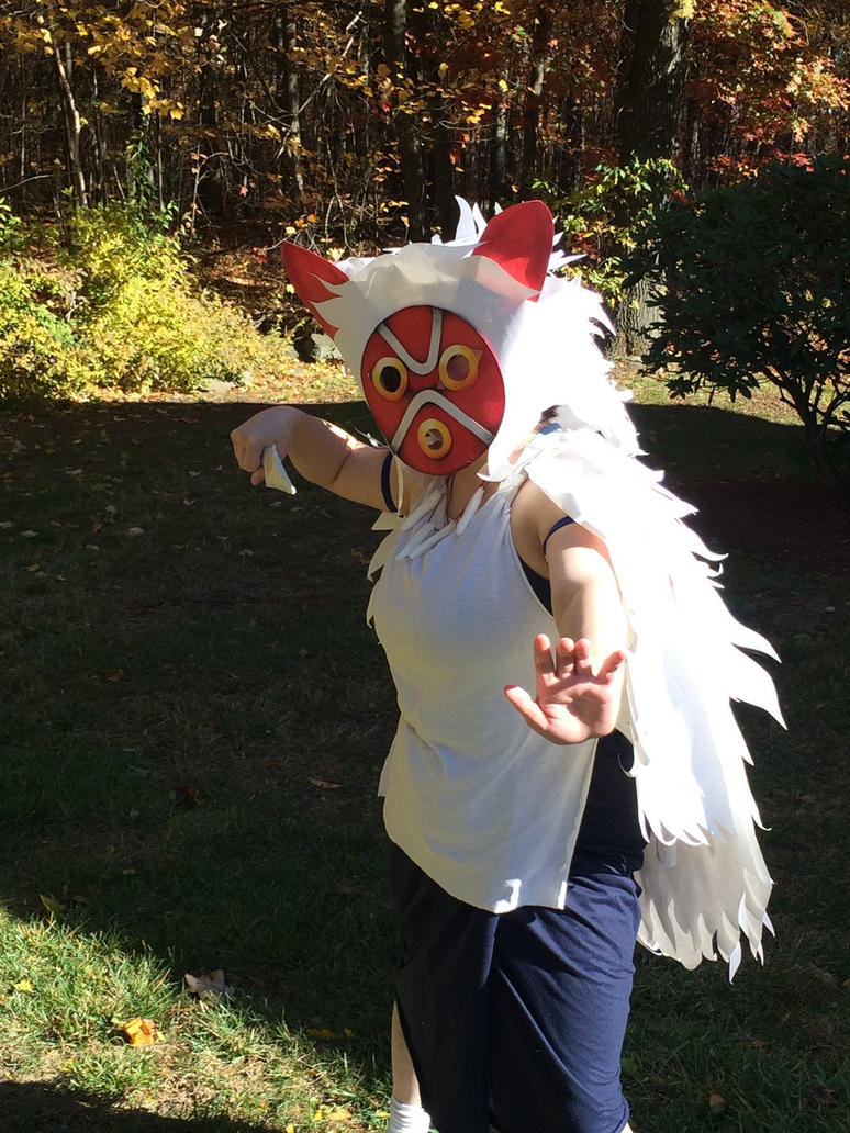 princess mononoke halloween cosplay 2 by juliartist1226