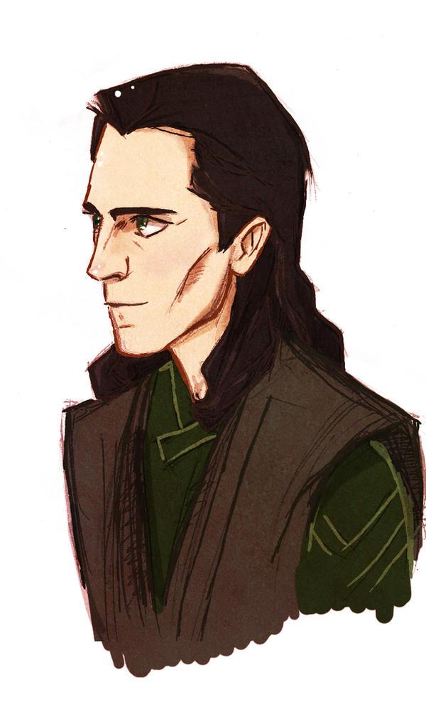 Prison Loki doodle by Salzburger89