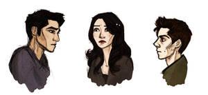 Teen Wolf doodles