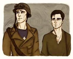 Stupid 40's Boys by Salzburger89