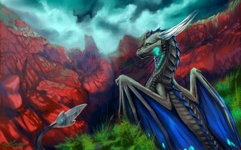 CM: Glowingspirit ~Rouge Canyon~ by EternalDragoness