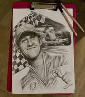 Michael Schumacher by Shanuke