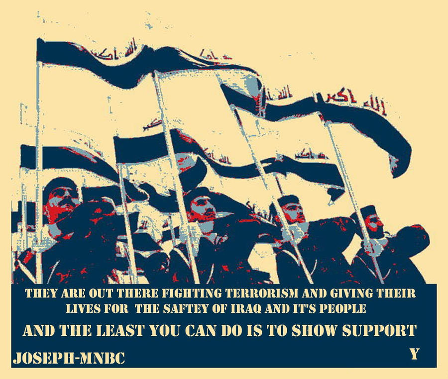 Iraqi Army Poster by Joseph-MNBC