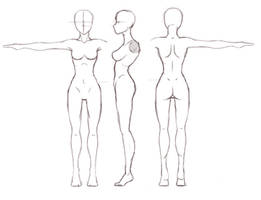 Female Turnaround Study by Darkenmarr