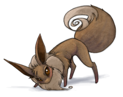 Eevee by Darkenmarr