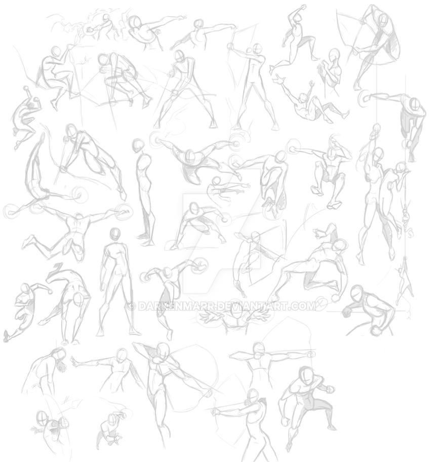 AATR Pose practice by Darkenmarr