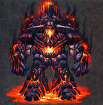 Lava Elemental Concept