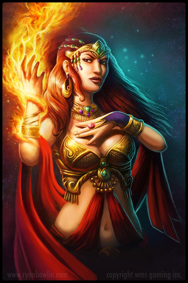 королева огня картинки