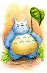 Totoro by RynoZebz