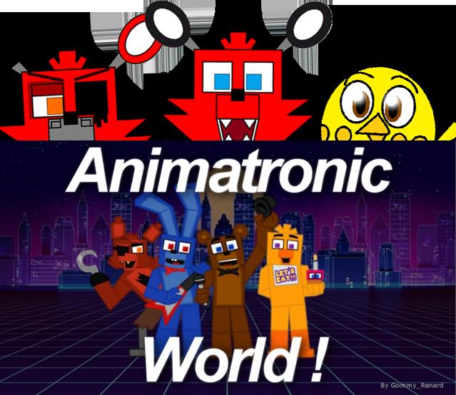HAPPY 5th BIRTHDAY ANIMATRONIC WORLD!!! By Zackattack04 On
