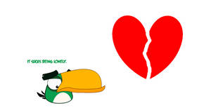 (ANGRY BIRDS) Lonely Hero