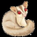 Cremino Sugar Glider Companion by Shivali-Lorekeeper