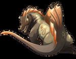 Spinosaur Companion by Shivali-Lorekeeper
