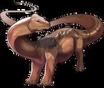 Titanosaur Companion by Shivali-Lorekeeper