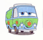 The Mystery Machine color