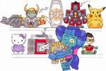 Sapphire's toys