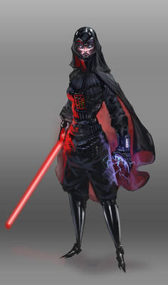 Darth Vader Girl Version