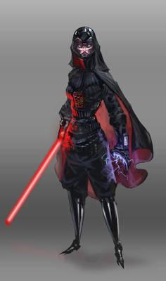Darth Vader Girl Version
