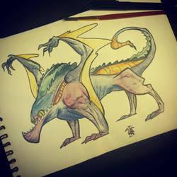Dragon by lepetitgroin
